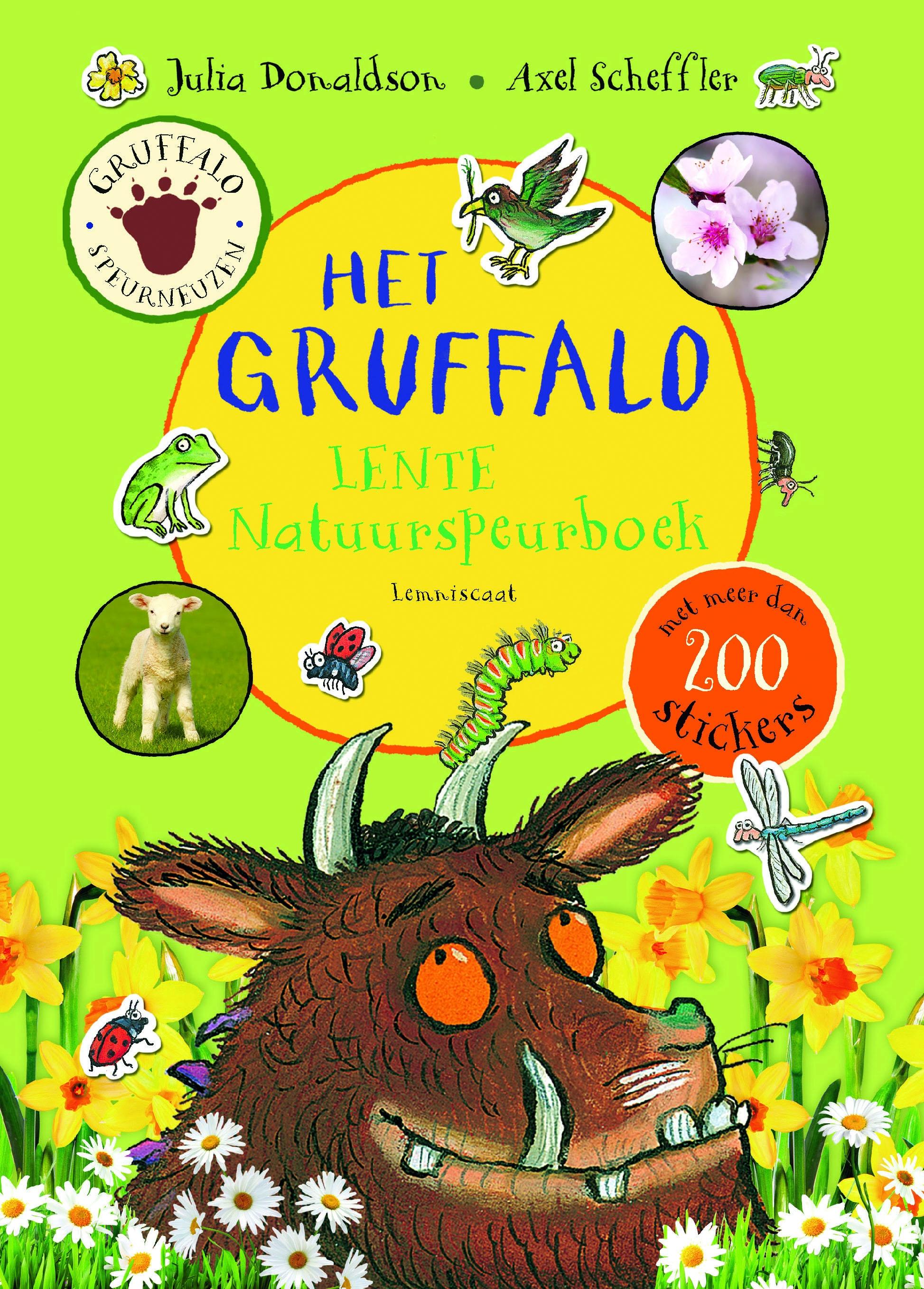 Gruffalo Lente Natuurspeurboek – Julia Donaldson en Axel Scheffler