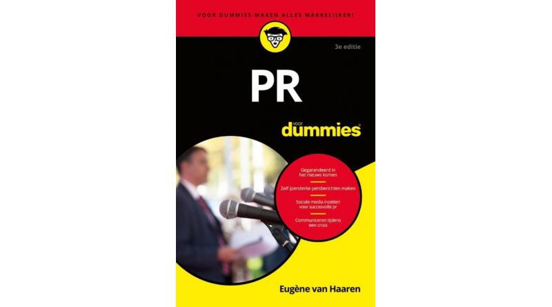 PR voor Dummies – Eugène van Haaren