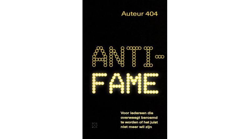 Anti-fame – Auteur 404